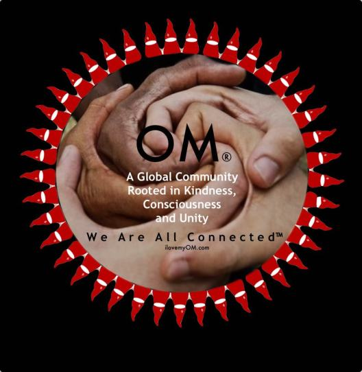 we are all connected, Dalai Lama, New Orleans, kindness, compassion, Miquette Bishop, OM, OM by Miquette, Saunderstown, Rhode Island