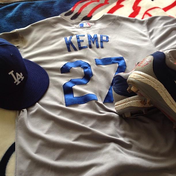 Joshua Jones, Matt Kemp, Dodgers