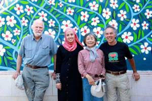 Al Aqaba, Mural, Lily Yeh, Barefoot Artists